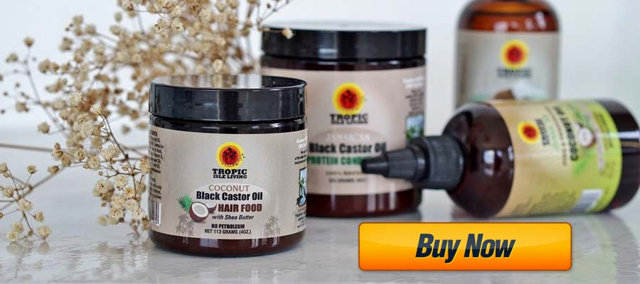 Jamaican Black Castor Oil Coconut Hair Food by Tropic Isle Livin